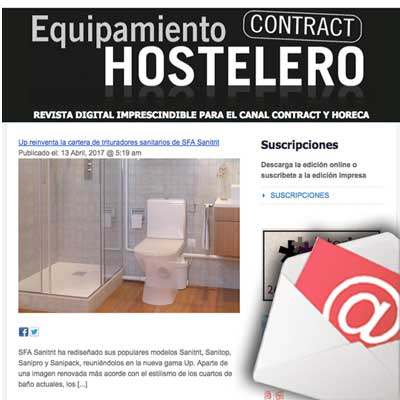 NEWSLETTER EQUIPAMIENTO HOSTELERO