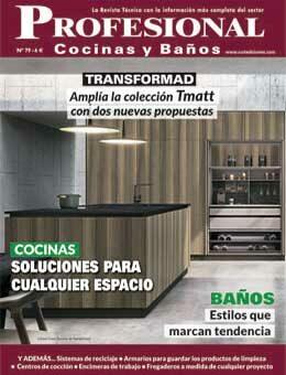 REVISTA PROFESIONAL COCINAS Y BAÑOS 79 de CURT EDICIONES