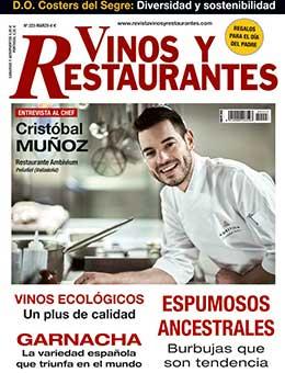 REVISTA VINOS Y RESTAURANTES 223 de CURT EDICIONES