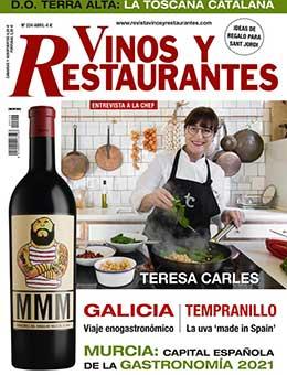 REVISTA VINOS Y RESTAURANTES 224 de CURT EDICIONES
