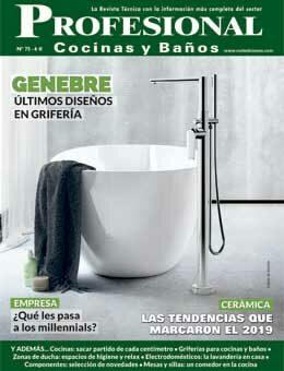 REVISTA Profesional Cocinas y Baños-75 de CURT EDICIONES
