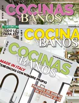 SUSCRIPCIÓN IMPRESA A REVISTA COCINAS Y BAÑOS