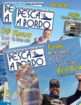 Revista Pesca a bordo Suscripción Impresa