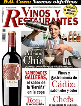 REVISTA VINOS Y RESTAURANTES 190 DE CURT EDICIONES