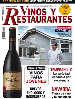 REVISTA VINOS Y RESTAURANTES 205 de CURT EDICIONES