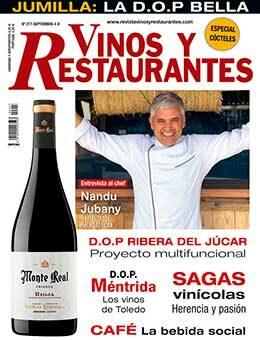 REVISTA VINOS Y RESTAURANTES 217 de CURT EDICIONES