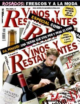 Revista Vinos y Restaurantes Suscripción impresa